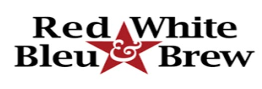 Red White Bleu & Brew logo