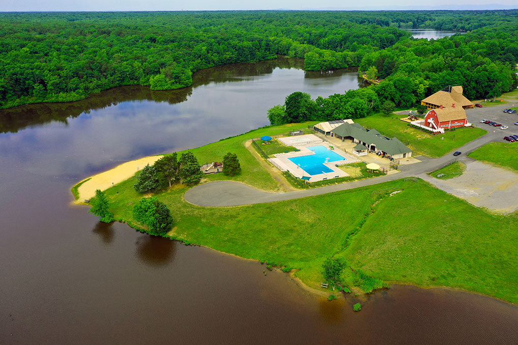 WIld Roots Music Festival At Wilderness Presidential Resort Aerial View Of Venue