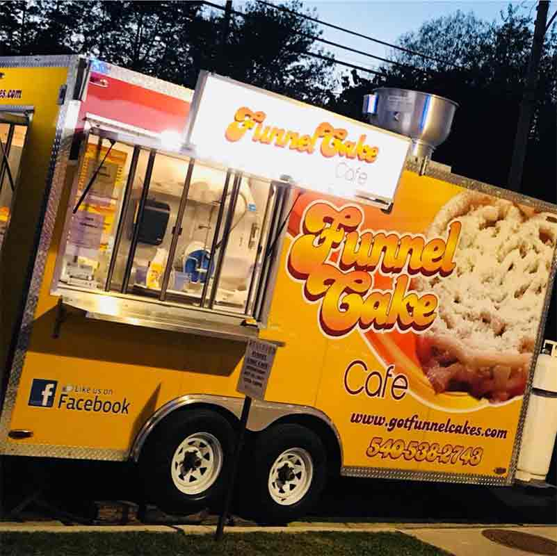 Funnel Cake Cafe truck