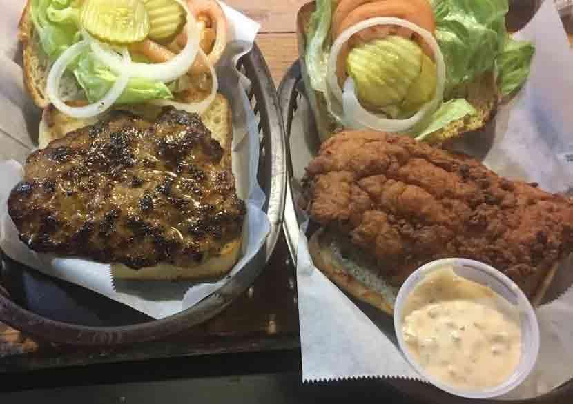 Uncle Elders bbq burgers